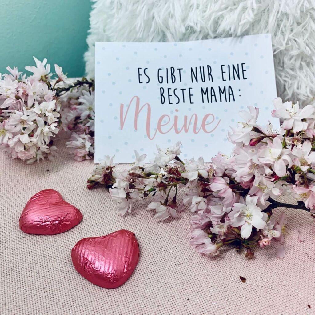 Muttertagskarte - Es gibt nur eine beste Mama: Meine