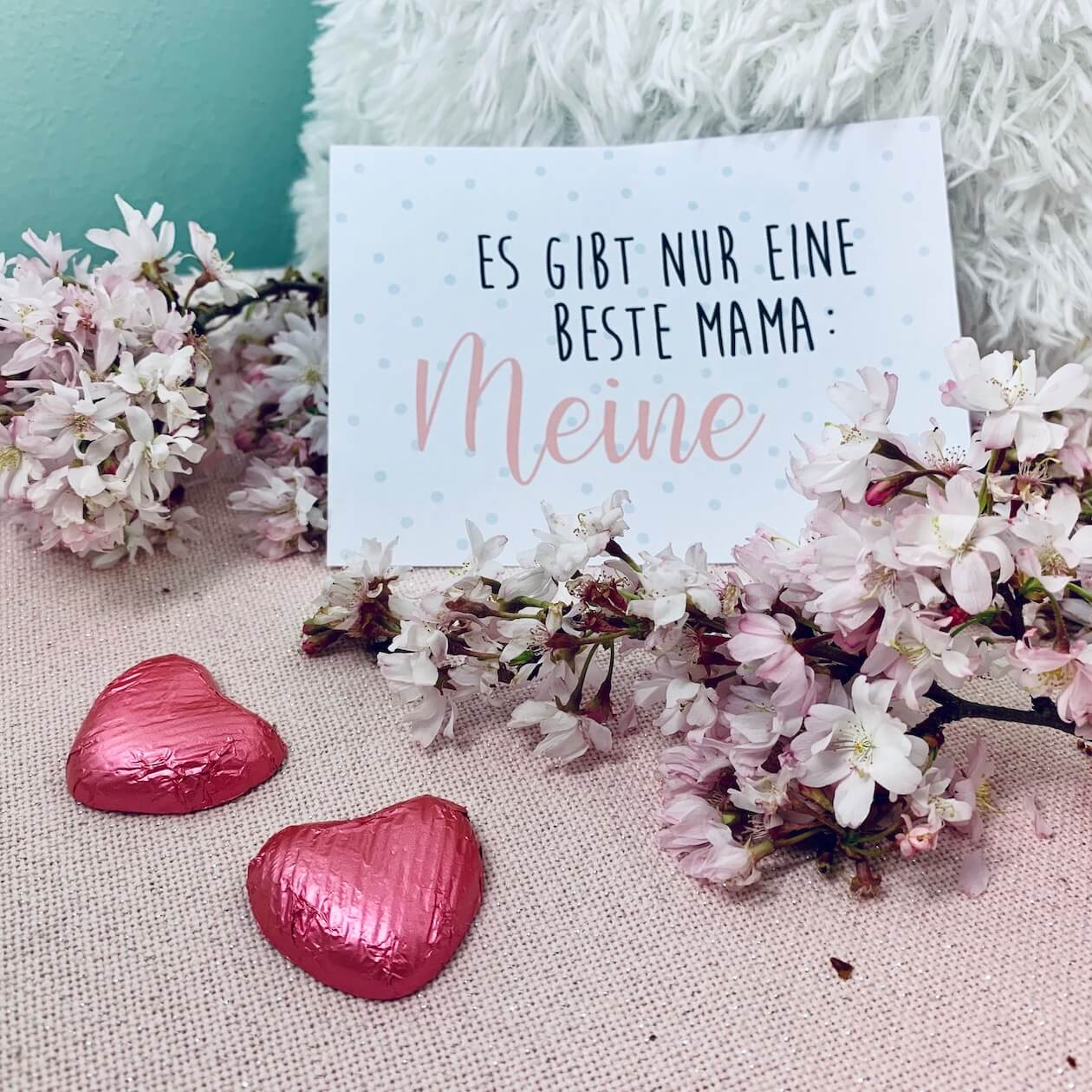 Muttertagskarten zum Ausdrucken