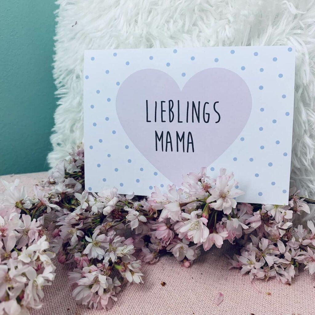 Muttertagskarte - Lieblingsmama