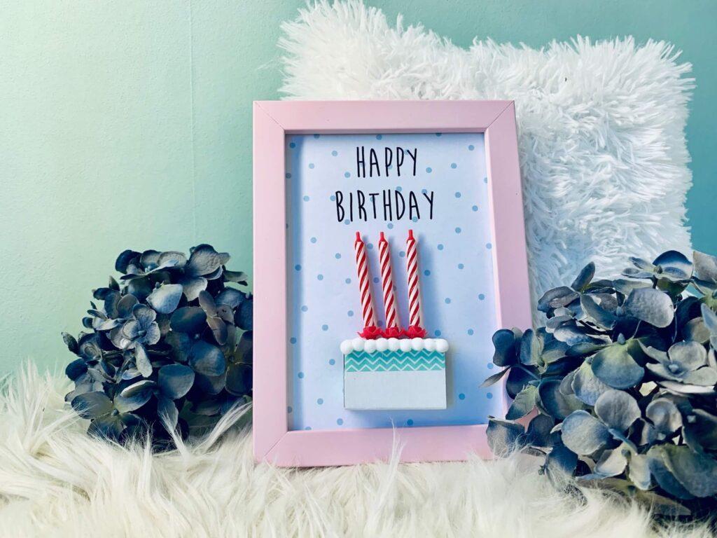 """Geldgeschenk """"Geburtstagskuchen"""" zum Geburtstag"""