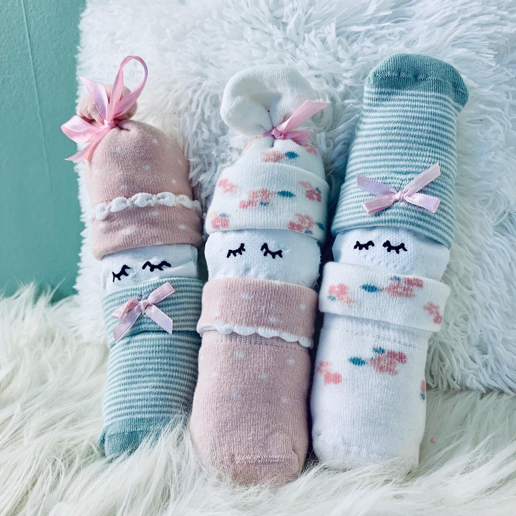 Geburtsgeschenk schlafende Strampelmännchen