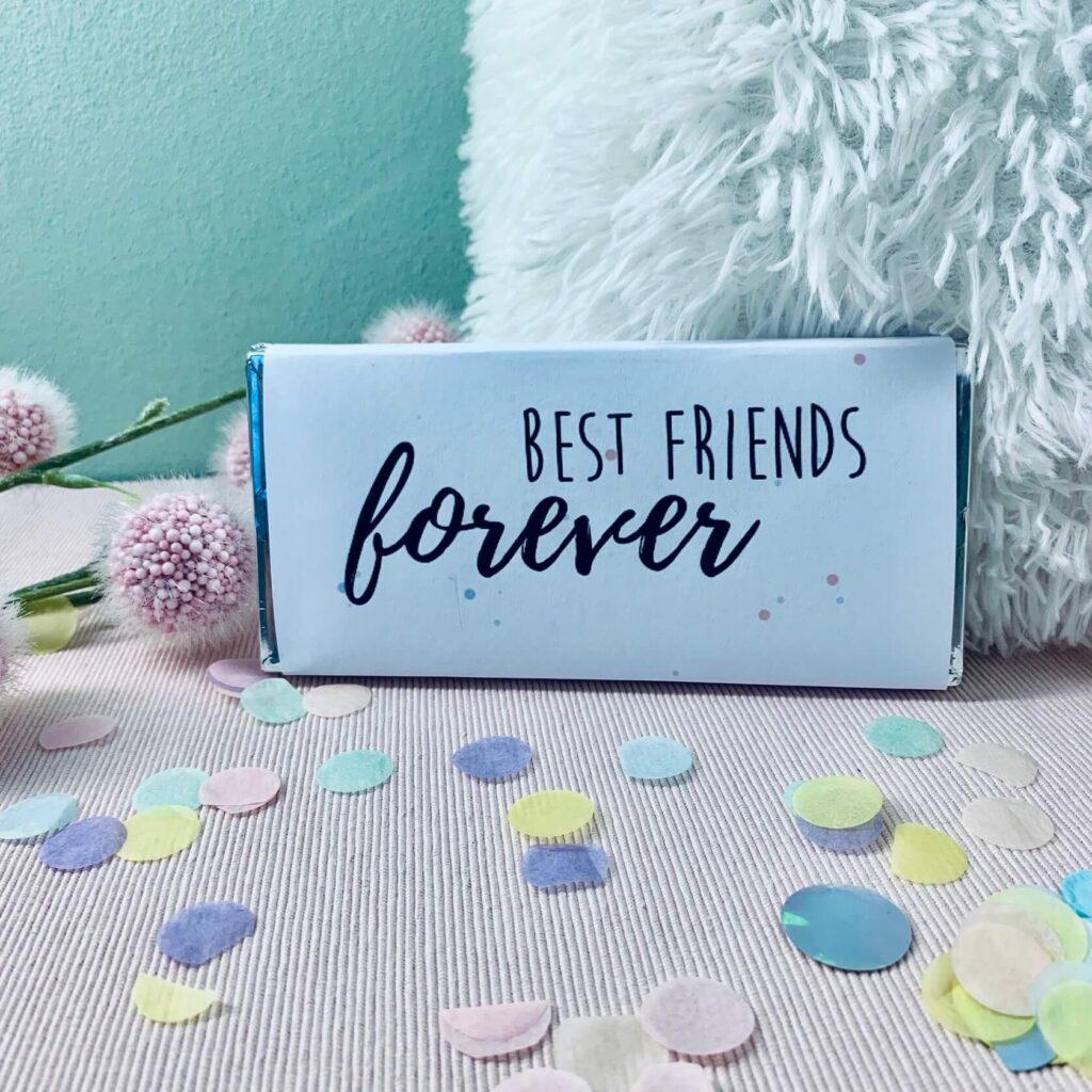 Schokoladentafel Best Friends Forever