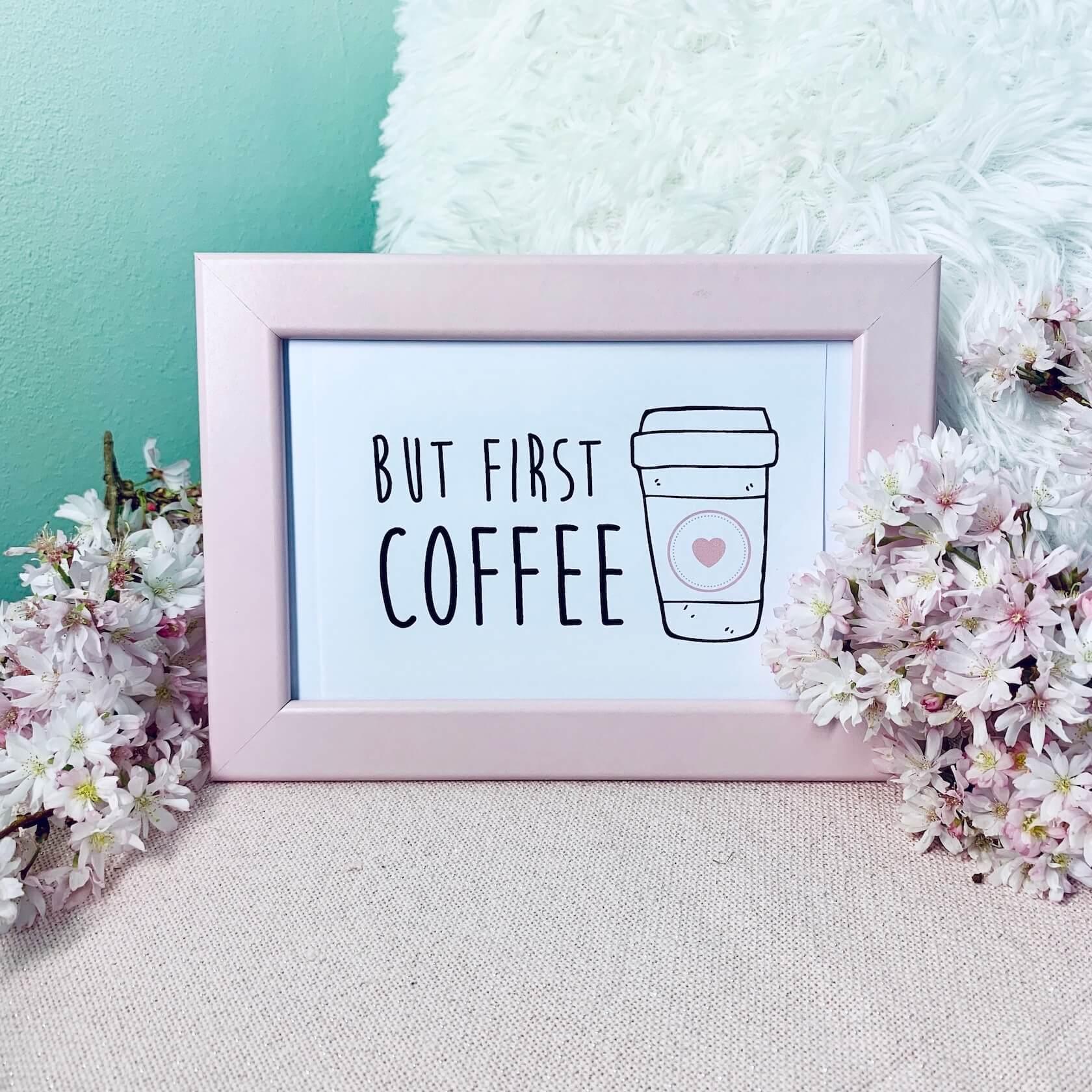 Postkarte Tag des Kaffees
