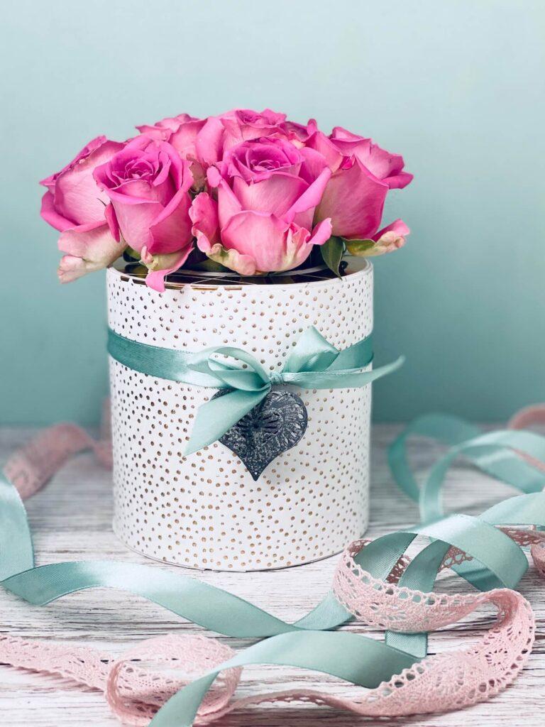 Rosenbox zum Valentinstag selber machen