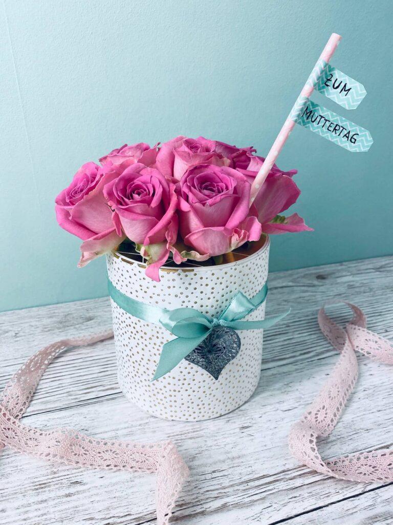 Rosenbox selber machen zum Muttertag