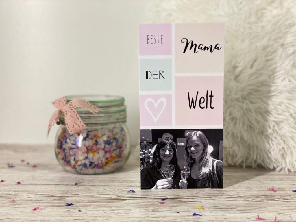 Muttertagskarte Beste Mama der Welt