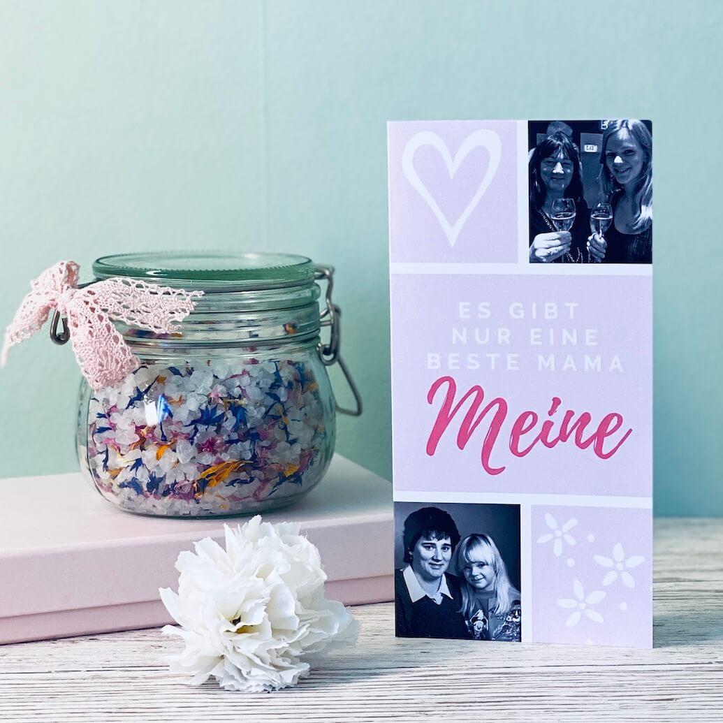 Titelbild Muttertagskarte und -geschenk selber machen