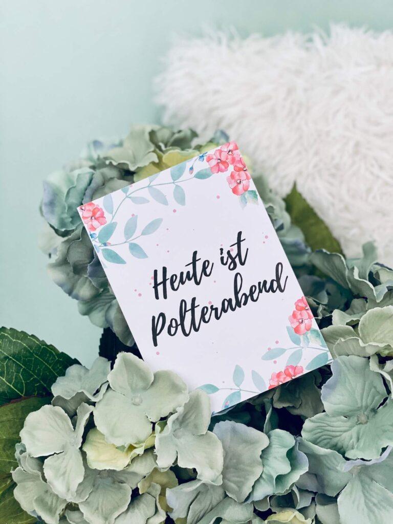 Polterabend - Meilensteinkarten Hochzeit