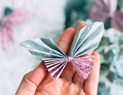 Schmetterling auf Hand