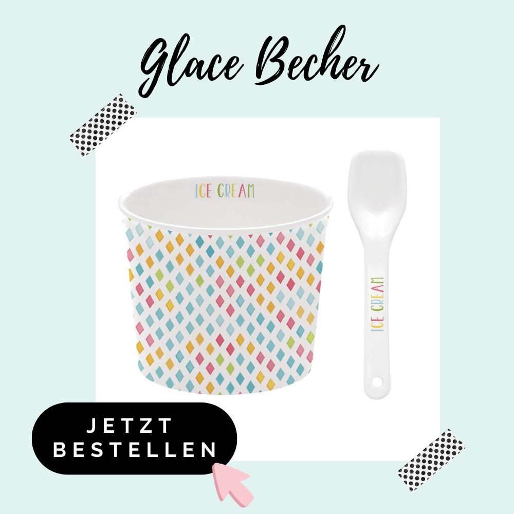 Glace Becher