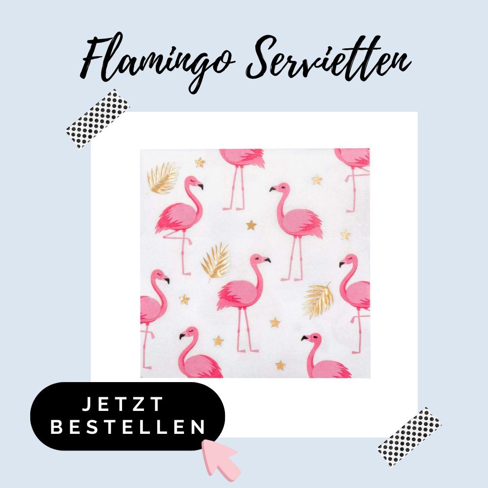 Flamingo Servietten