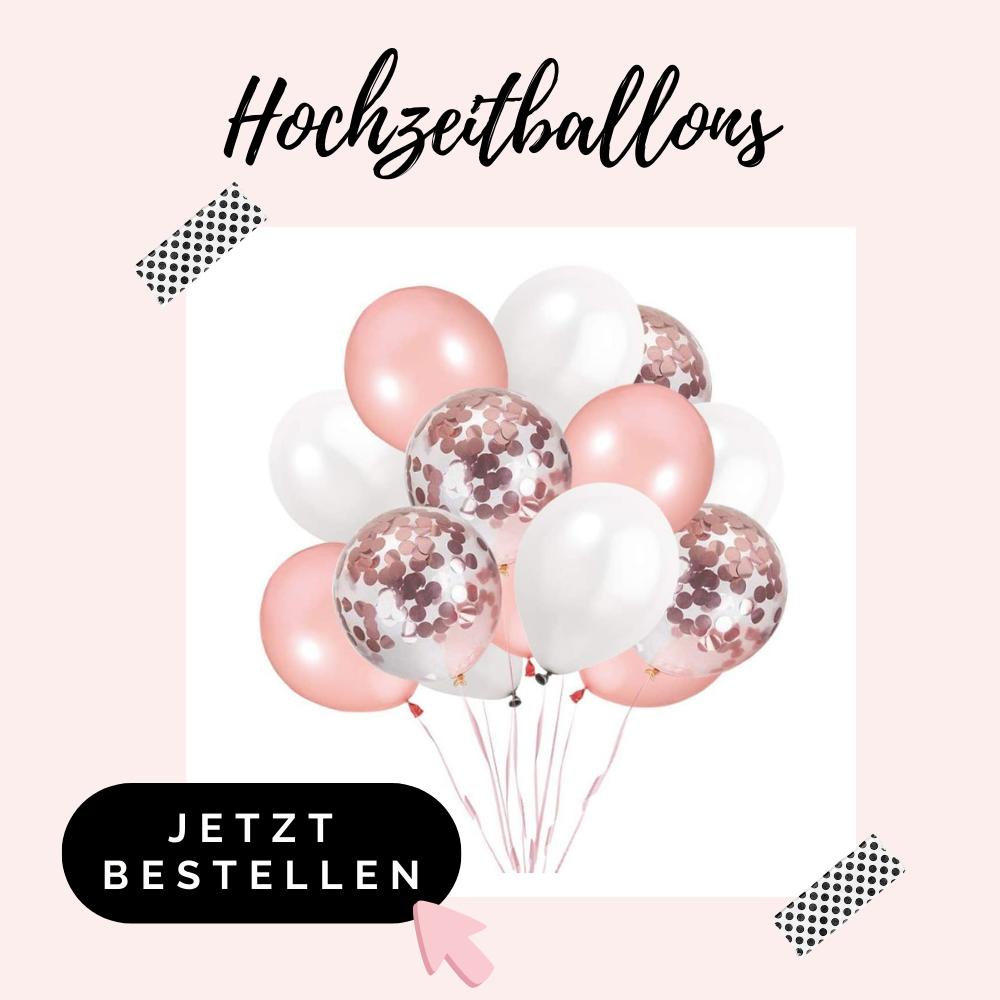 Hochzeitballons