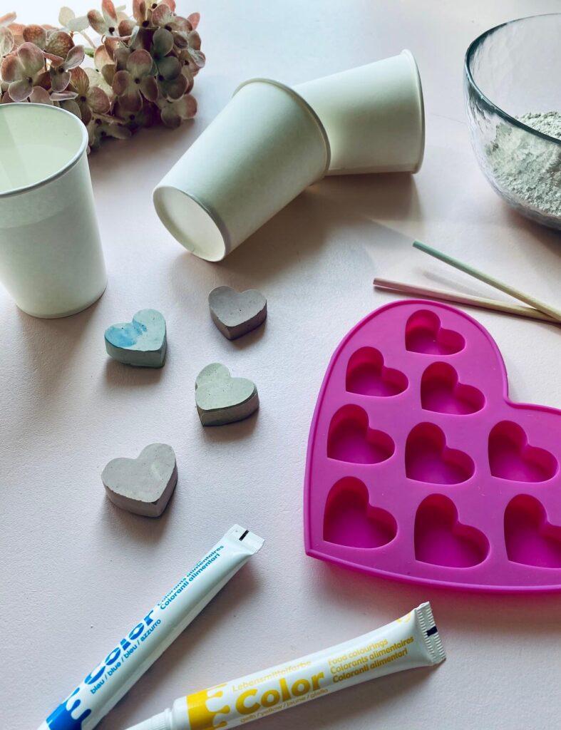 Materialien für DIY Kreide