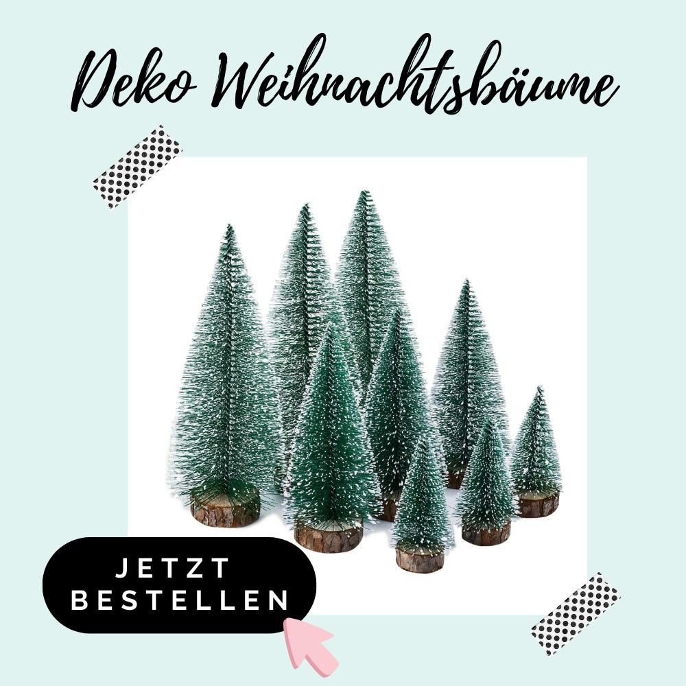 Deko Weihnachtsbäume