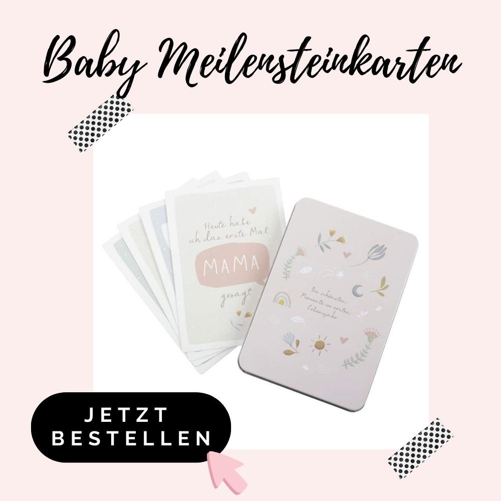 Baby Meilensteinkarten