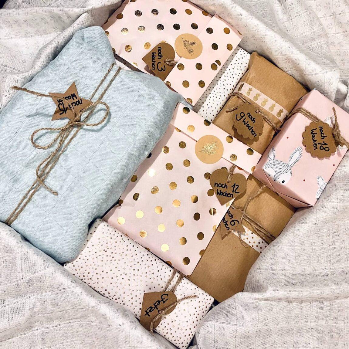 Schwangerschaft Countdown Box
