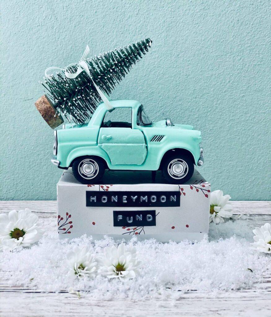 Geldgeschenk Winterhochzeit