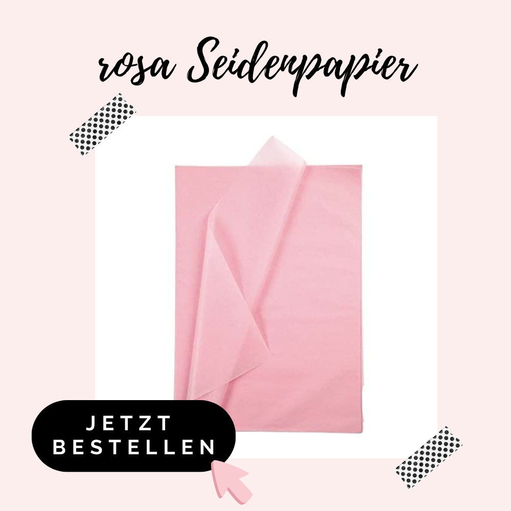 rosa Seidenpapier