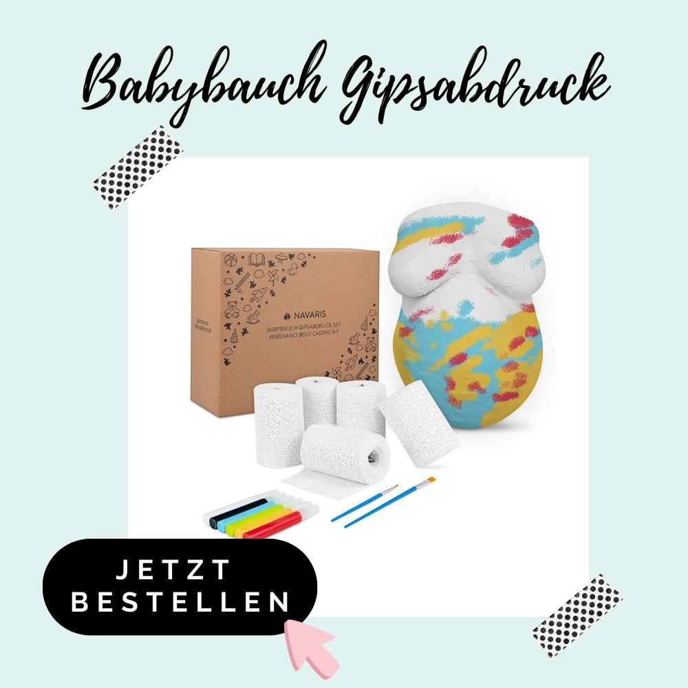 Babybauch Abdruck