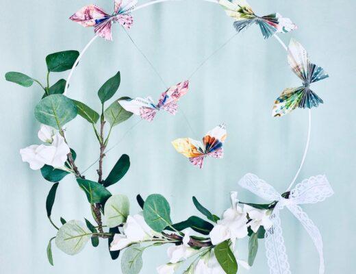 Geldgeschenk Hochzeit - gefaltete Geldschein Schmetterlinge