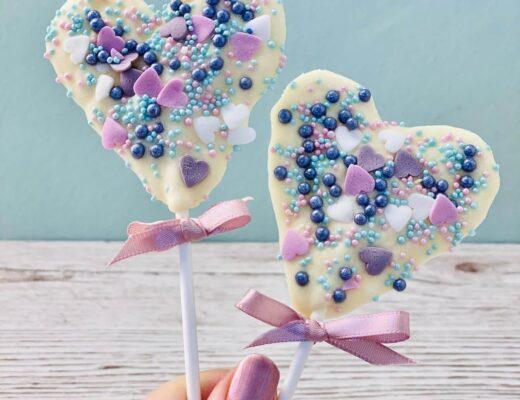 Schokoladen-Lollies