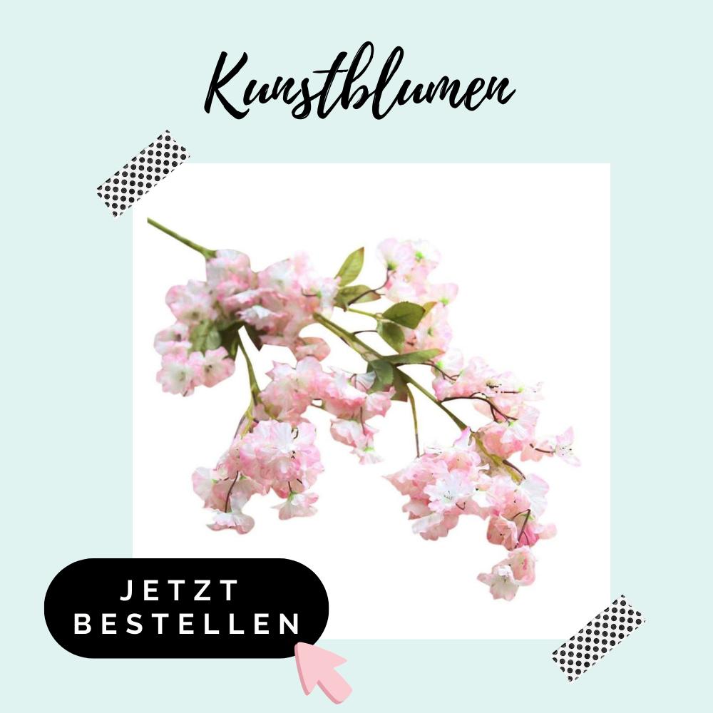 Kirschblüten Kusntblumen