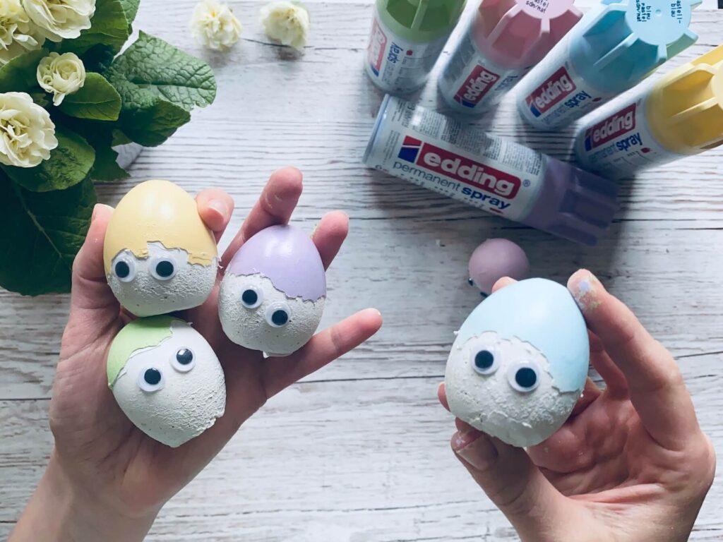 Edding Osterdeko Eierköpfe