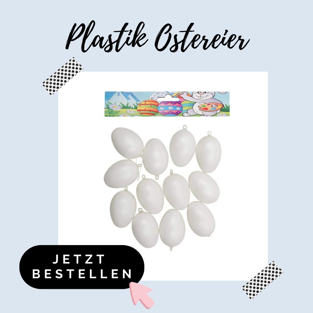 Plastik Ostereier