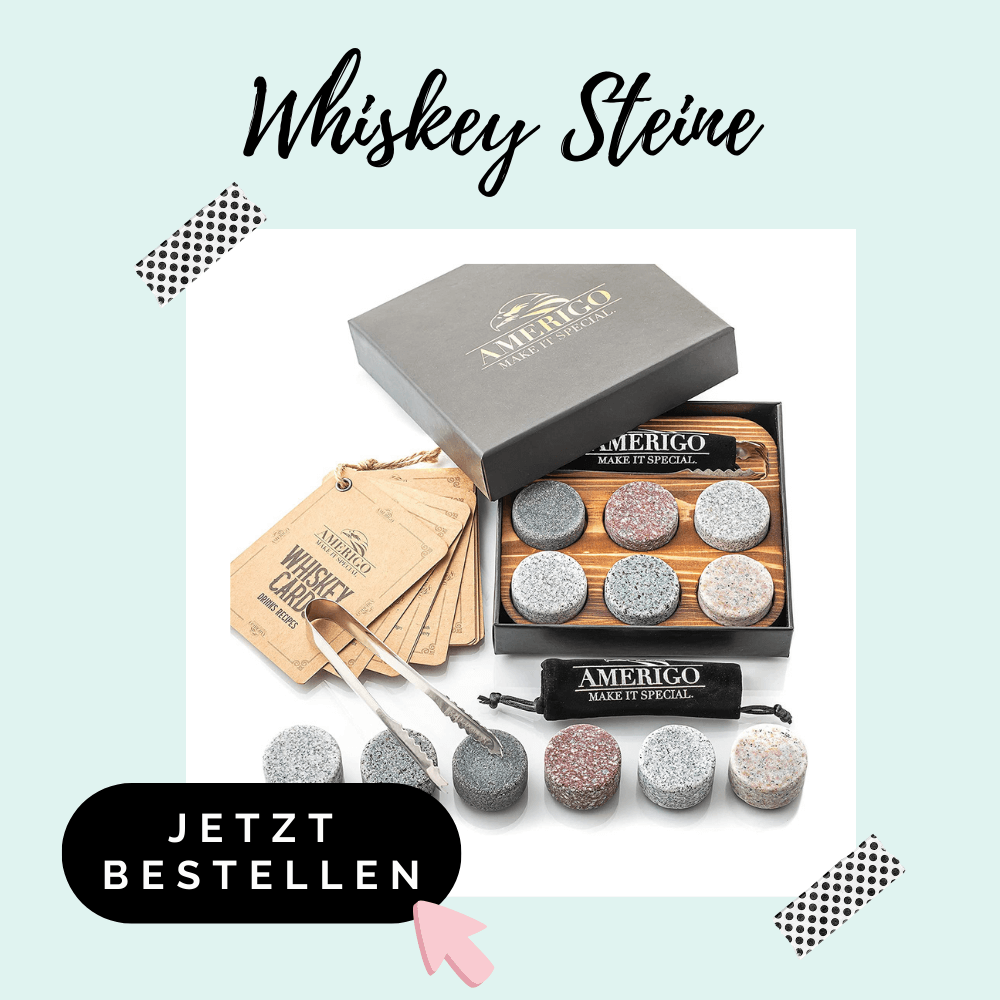 Whiskey Steine - Adventskalenderfüllung für Männer