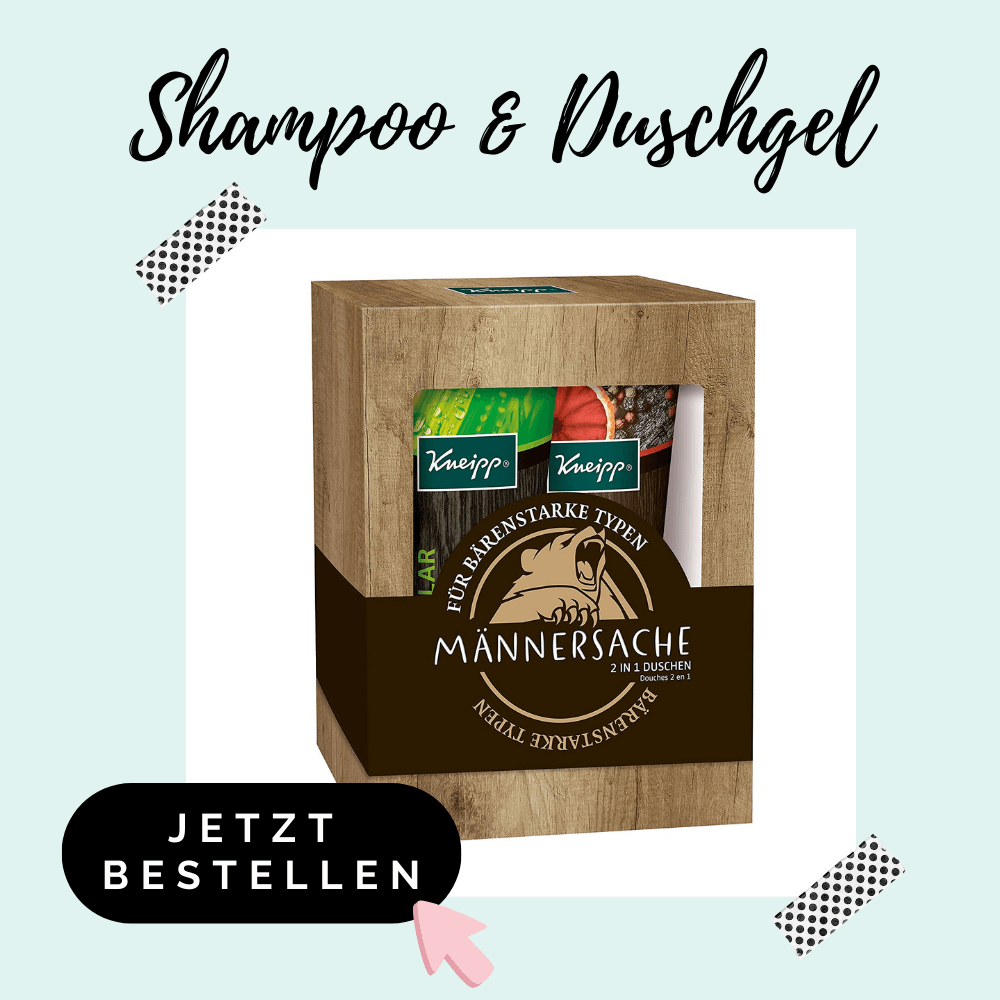 Duschgel Shampoo - Adventskalenderfüllung für Männer