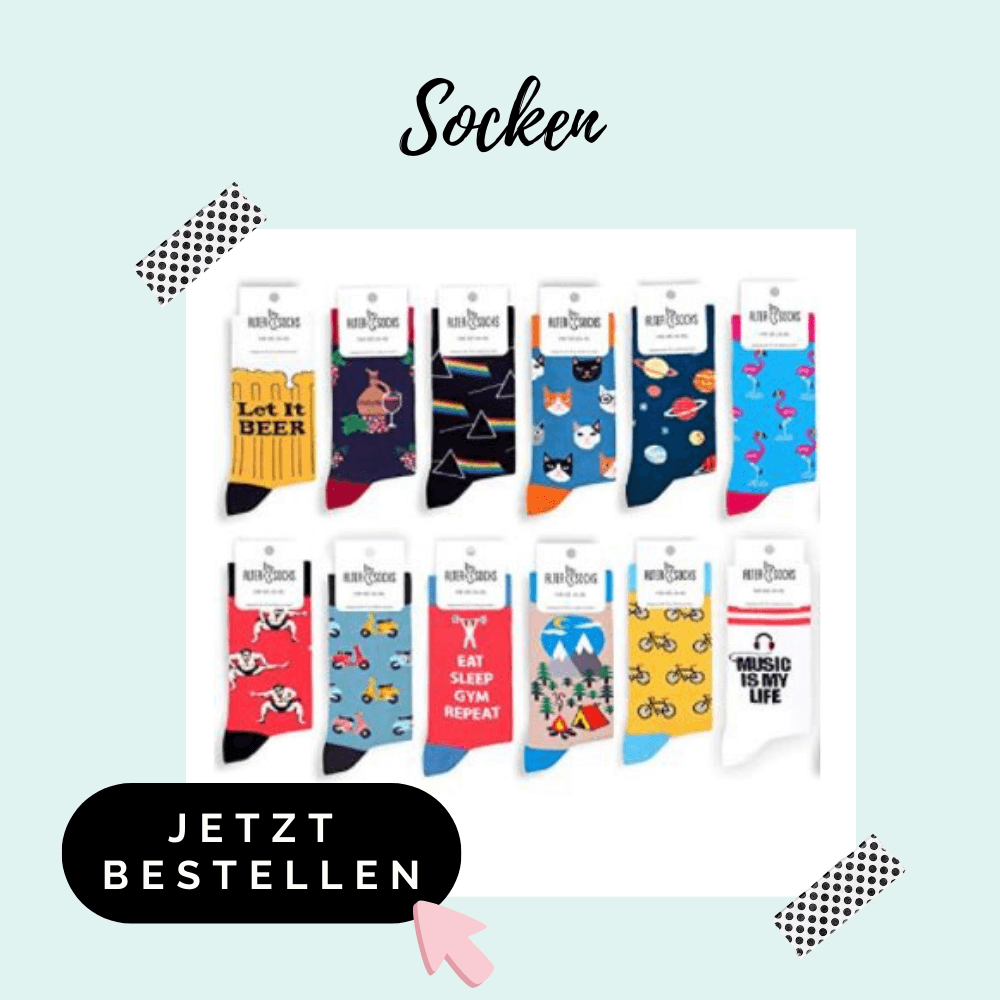 Socken - Adventskalenderfüllung für Männer