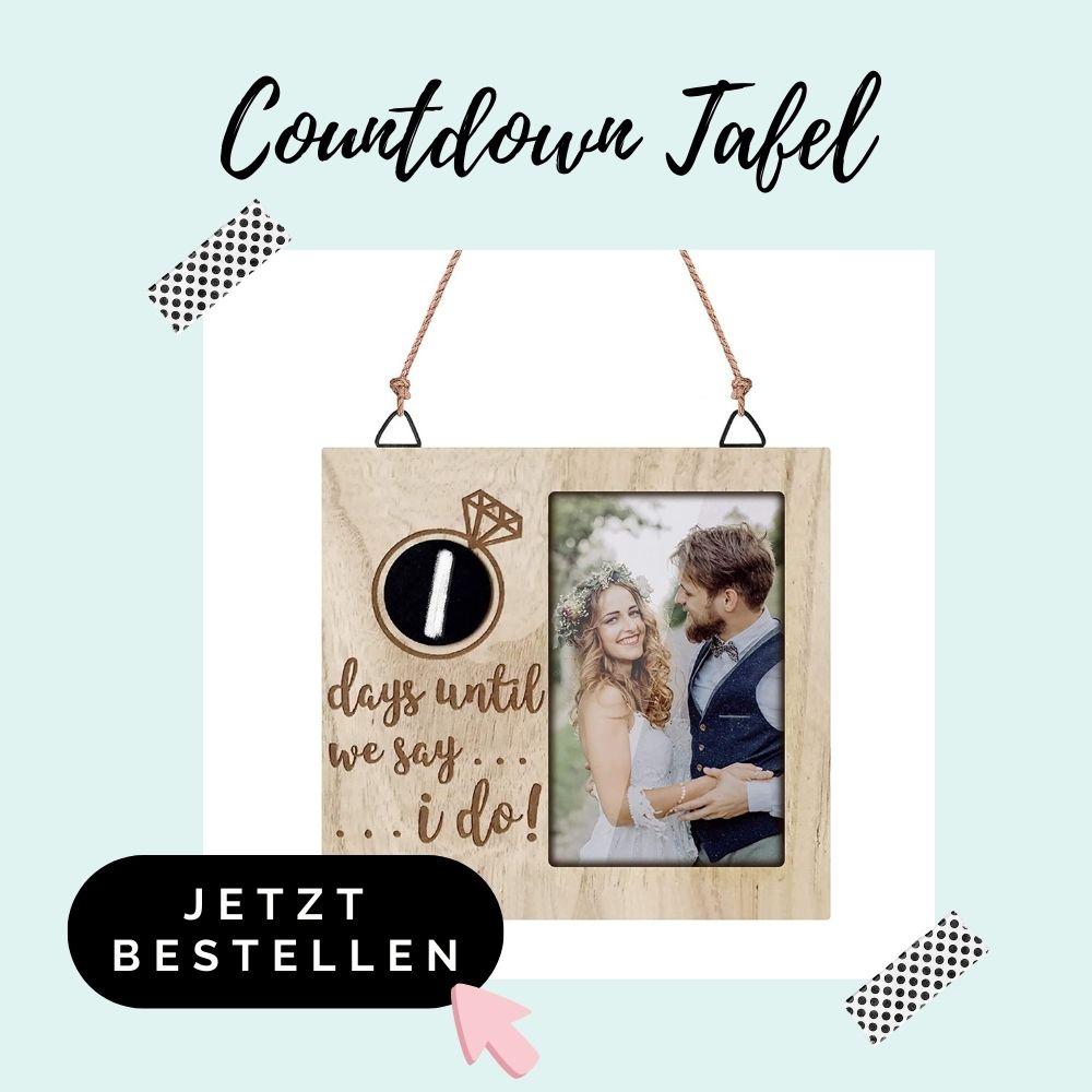 Countdown Tafel