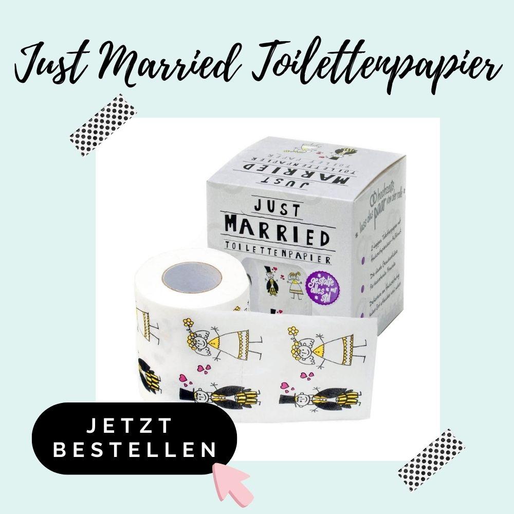Just Married Toilettenpapier